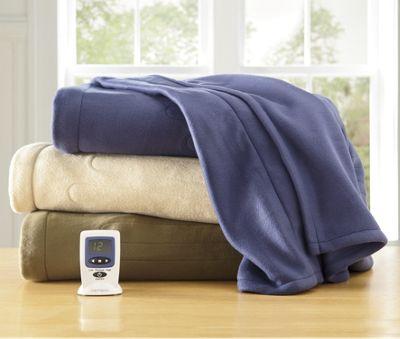 Fleece Heated Blanket