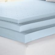 sensorpedic ventilated memory foam support topper 3