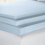 sensorpedic ventilated memory foam support topper 3