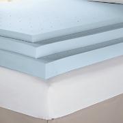 sensorpedic ventilated memory foam support topper 4