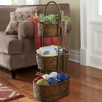 3-Tier Basket Stand