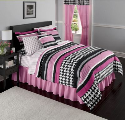 Complete Bed Set and Window Treatments