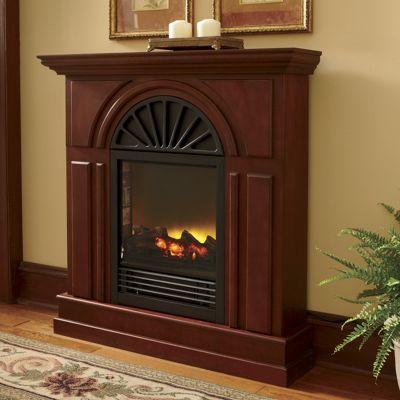 Black Arch Fireplace