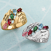 Personlalized Family Ring