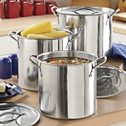 Set of 3 Stockpots
