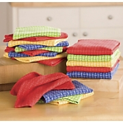 18-Piece Basket Weave Kitchen Towel Set