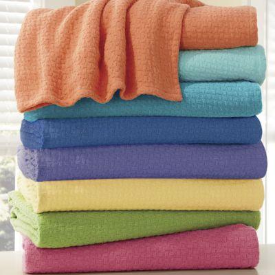 Bright Woven Blanket