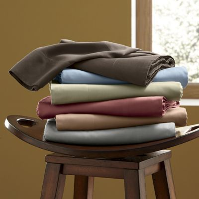 360-Thread Count Wrinkle-Resistant Cotton Sheets