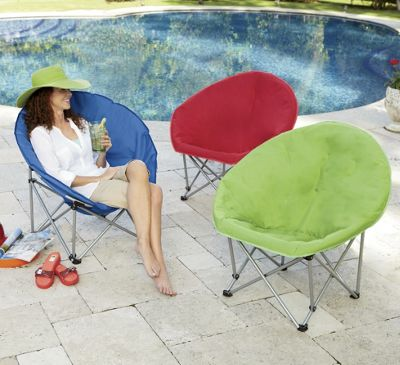 Indoor/Outdoor Moon Chair