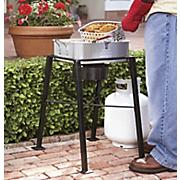 double outdoor fryer
