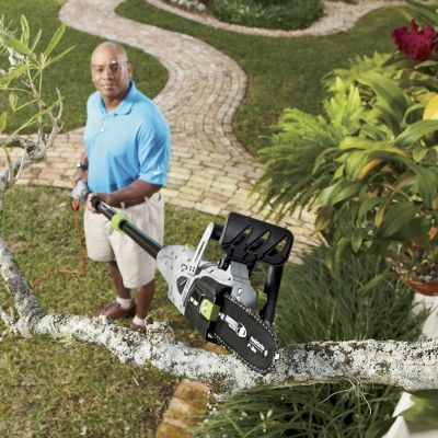 Electric 2-In-1 Convertible Pole Chain Saw