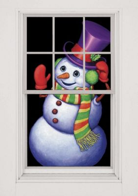 Single Window Christmas Poster