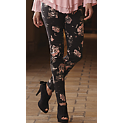 Midnight Rose Floral Pant
