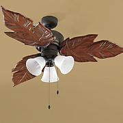 3 Light Palm Fan