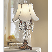 crystal table lamp 78