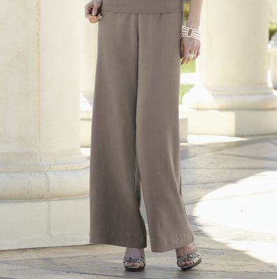 Pant, South Coast Split Waist Palazzo by Cenia Paredes