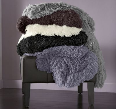 Indulgence Faux Fur Throw