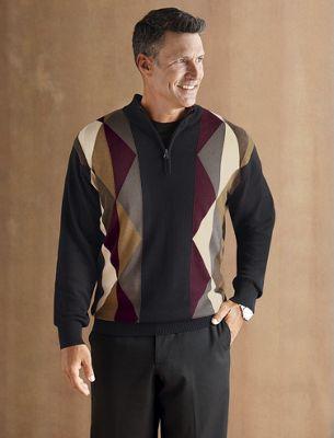 Geometric Sweater