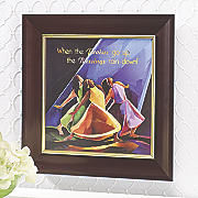 praises framed art