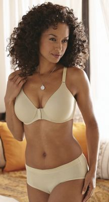 Invisible Back Bra and Comfort Edge Panty