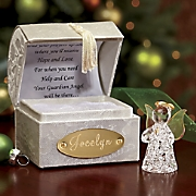 personalized guardian angel chest
