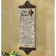 The Lords Prayer Plaque