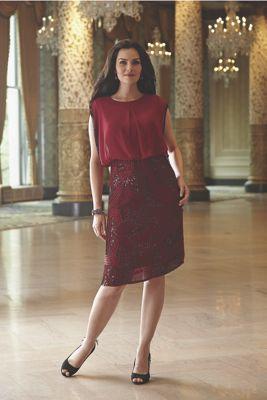 Dondi Beaded Skirt Dress