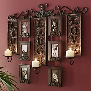 Live Love Laugh Candlelit Photo Display