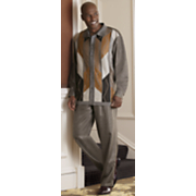 neutral hues pant set by steve harvey