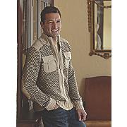 sweater jacket by stacy adams