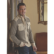 sweater jacket by stacy adams