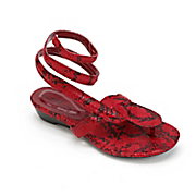 Wrap Around Sandal By Midnight Velvet