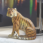 tiger floor figurine