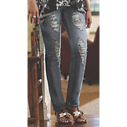 Kesi Distressed Jean by Midnight Velvet Style