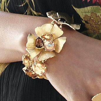 Crystal Blossom Bracelet