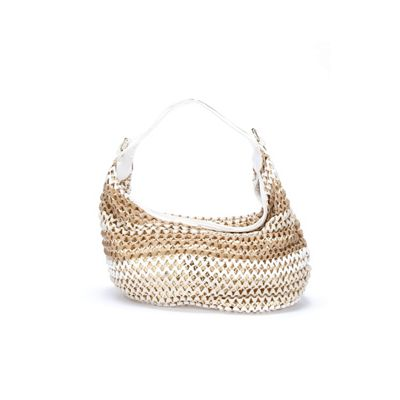 Kerry Woven Sequin Tote