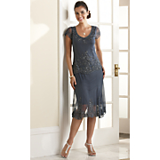 'Cristelle' Beaded Dress