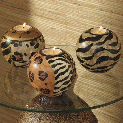 Set of Animal Candle Orbs