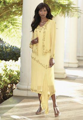 Buttercup Jacket Dress
