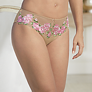 floral trim panty 13