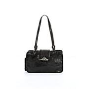 Toulon Embossed Leather Handbag