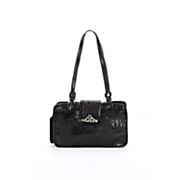 'Toulon' Embossed Leather Handbag