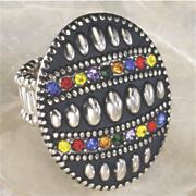 byzantine beaded ring