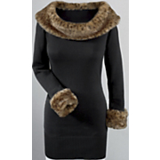 Amari Leopard-trim Sweater