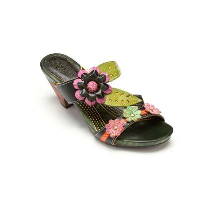 Lona Slide by Spring Footwear