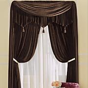 woven velvet panel