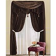 Woven Velvet Window Treatments