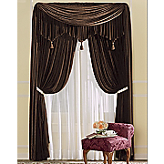 woven velvet window treatments