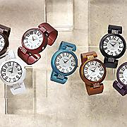 colorful hinged bangle watch