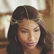 rhinestone chain headpiece